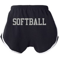 Softball Shorts: Sweethearts