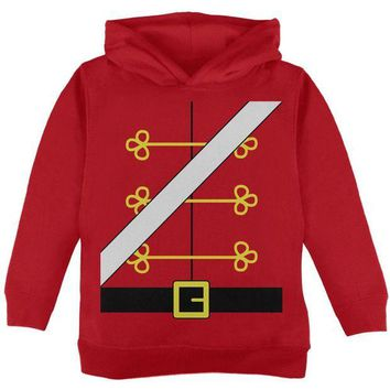 DCCKU3R Christmas Toy Soldier Nutcracker Costume Toddler Hoodie