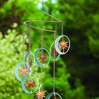 Hanging Sun and Moon Mobile