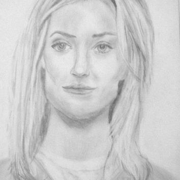 OITNB, Orange is the new Black, Character Art, Piper Chapman Art, Portrait Drawing, Celebrity Portrait, Portrait Art, Celebrity Inspired Art