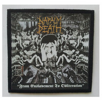 NAPALM DEATH - FROM ENSLAVEMENT TO OBLITERATION PATCH