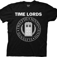 T-shirt Doctor Who Time Lords