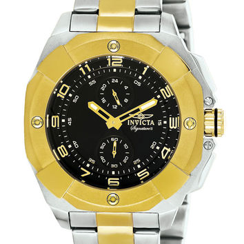 Invicta Signature II Two Tone GMT Mens Watch 7299