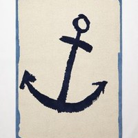 Hand-Tufted Anchor Rug by Jai Vasicek of AHOY TRADER Multi