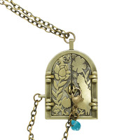 Disney Alice In Wonderland Curious Door Locket