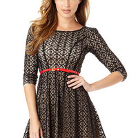 Grace Fit-and-Flare Dress
