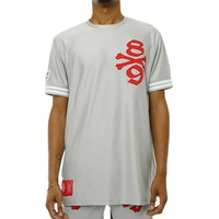Own The Team Double Mesh Jersey Grey
