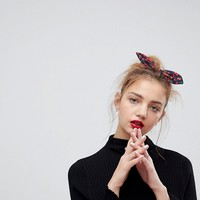 ASOS Cherry Knot Headband at asos.com