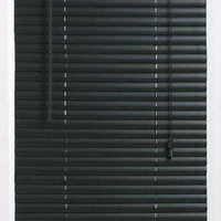 "Black 1"" Mini Window Blinds in Various Sizes"