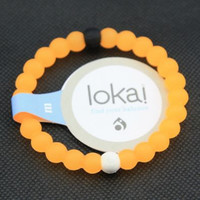 Lokai Supports Bracelet Make-A-Wish For Friendship (orange)