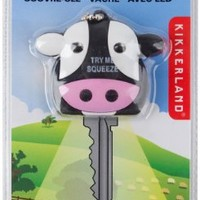 Kikkerland KR84 Cow Flashlight LED Key Cap