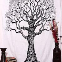 Native Purity Tree of Life Tapestries , Hippie Tapestries , Bohemian Boho Tapestry , Dorm Tapestry ,Wall Tapestries, Tapestry Wall Hanging
