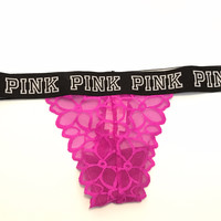 Victoria's Secret PINK Extra Low Rise Thong Panties