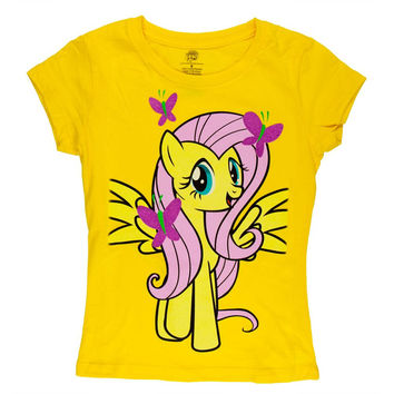 My Little Pony - Flutterfly Facing Forward Girls Youth T-Shirt