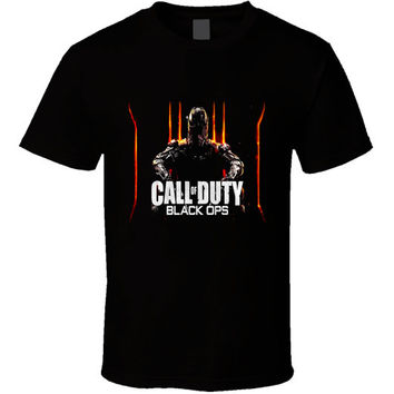 Call Of Duty Black Ops 3 Games Black T Shirt