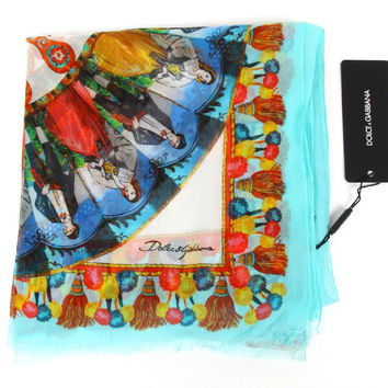 Dolce & Gabbana ladies silk scarf FS094A GD540