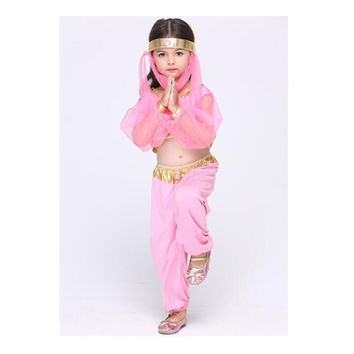 Children Kid Girl Dancing Dress Cosplay Stage Dress Costume Festival Suit