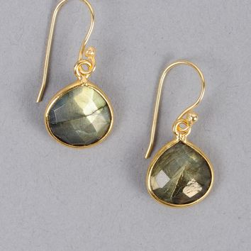 Armitage Avenue Drop Stone Earring