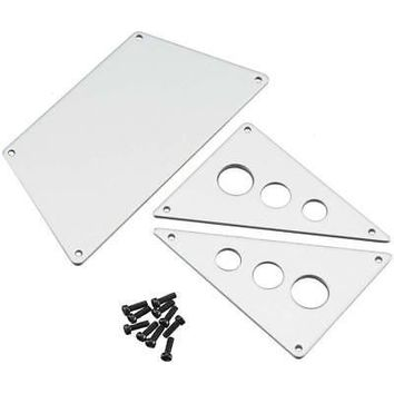 NEW Axial Aluminum Front Skid Plates Silver AX30530Officially Licensed  AT_69_5