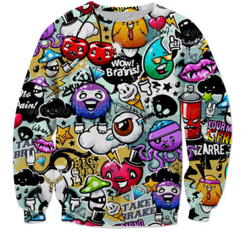 Graffiti Sweater