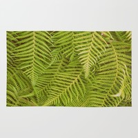 Ferns Rug by RichCaspian