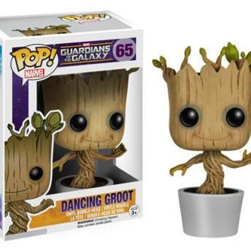 Dancing Groot Guardians Of The Galaxy Funko Pop! Marvel