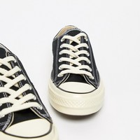 Converse Chuck 70 Ox Sneakers In Black at asos.com