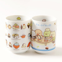 Sumikko Gurashi Sushi Party Teacups