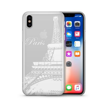 Paris Eiffel Tower - Clear TPU Case Cover