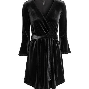 H&M Wrapover Dress $34.99