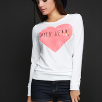 Wild Heart Graphic Top