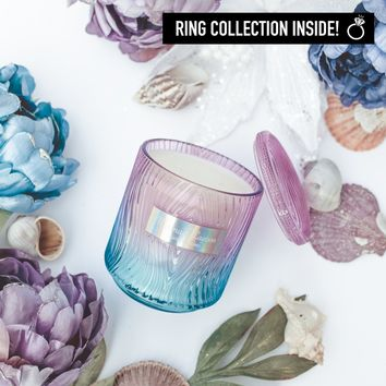 Mermaid Lagoon Ring Candle