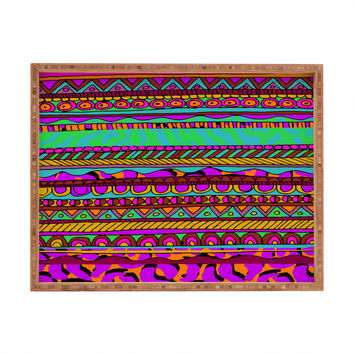 Aimee St Hill Bright Tribal Rectangular Tray