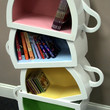 Stacked Teacups by WoodCurve on Etsy