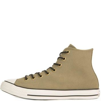 DCKL9 Converse for Men: Chuck Taylor All Star Crafted Khaki Suede High Tops