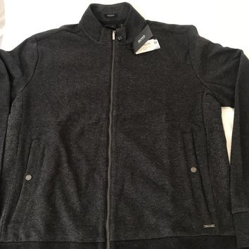 NWT $185 Boss Hugo Boss Black Label Sommers 10 Modern Jacket Charcoal Size XL