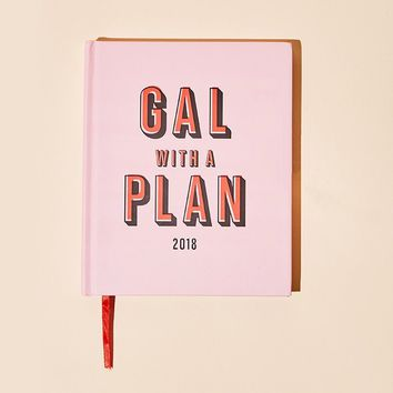 Gal With A Plan 2018 Planner