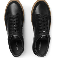 Our Legacy - Pirate Leather and Suede Sneakers | MR PORTER