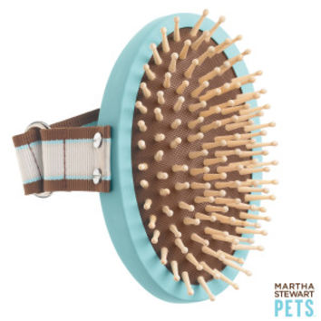 Martha Stewart Pets® Palm Massager Pet Brush