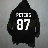 Evan Peters Shirt Hoodie Sweatshirt Shirt Sweater T Shirt Unisex - Size S M L XL