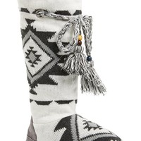 Women's MUK LUKS 'Grace' Tassel Tie Slipper Boot