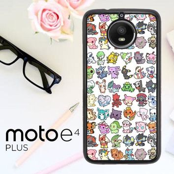 Pattern Pokemon O0061 Motorola Moto E4 Plus Case