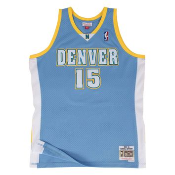 Mitchell & Ness Denver Nuggets Carmelo Anthony 2003-04 Swingman Jersey