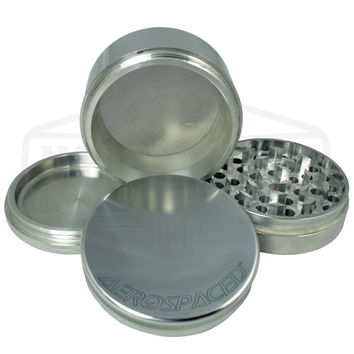 Aerospaced 4 piece Aluminum Grinder (75mm)
