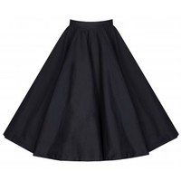 'Peggy' Vintage Fifties Style Black Rock 'n' Roll Full Circle Skirt