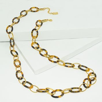 ALEXIS RESIN LAYERING NECKLACE