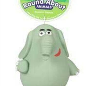 Hartz Roundabouts Dog Toy, Elephant, Large