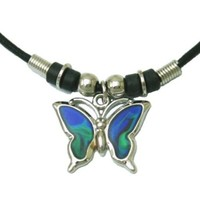 Mood Pendant Necklace - Butterfly