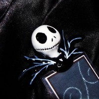 Jack the Skeleton Bookmark  Haunted Spooky  MASTER OF by IansCafe