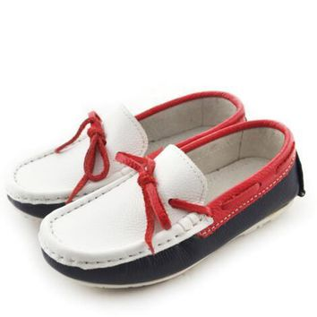 NEW Spring/Autumn Children Casual Shoes Boys Loafers Fashion Trend Dress Shoes Baby To